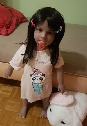 Dollter 80cm tan skin chubby doll Aya