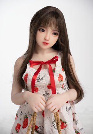Dollter 130cm Annaisha (full TPE doll with realistic makeup)